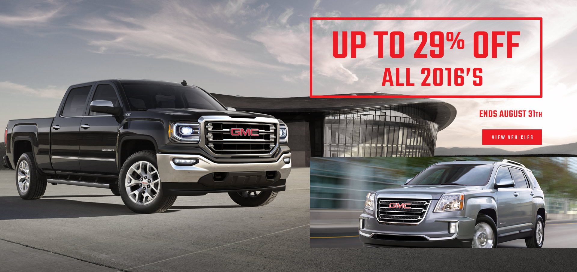2016 GMC On Sale
