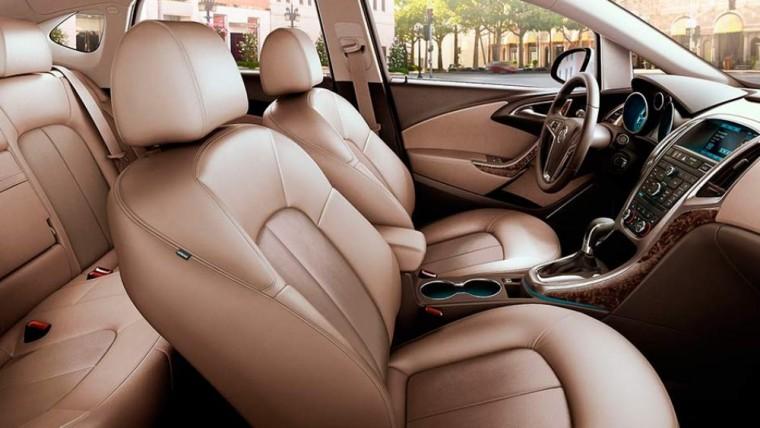 2017 Buick Verano Interior Leather
