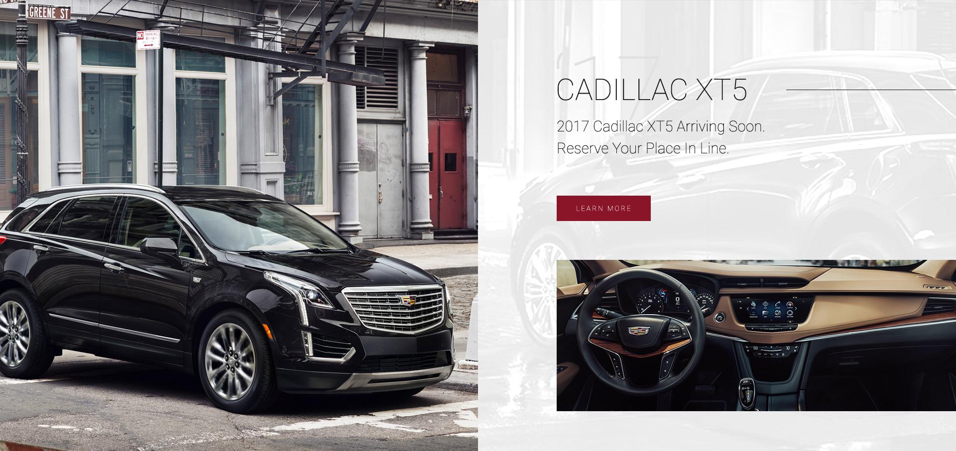 Cadillac XT5 Winnipeg