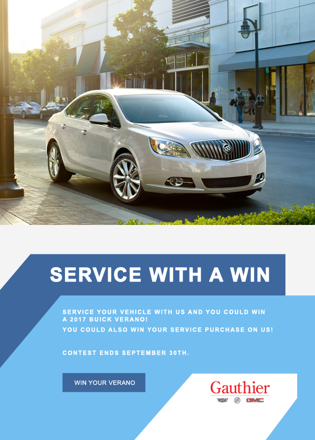 GM Vehicle Service Winnipeg