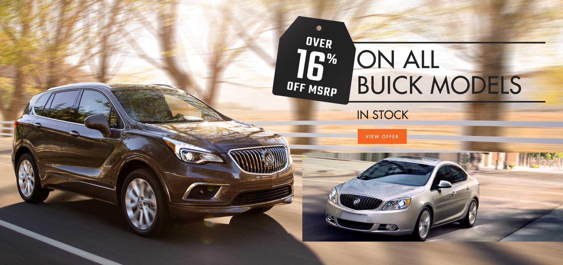 Buick Dealership Winnipeg Sale Event