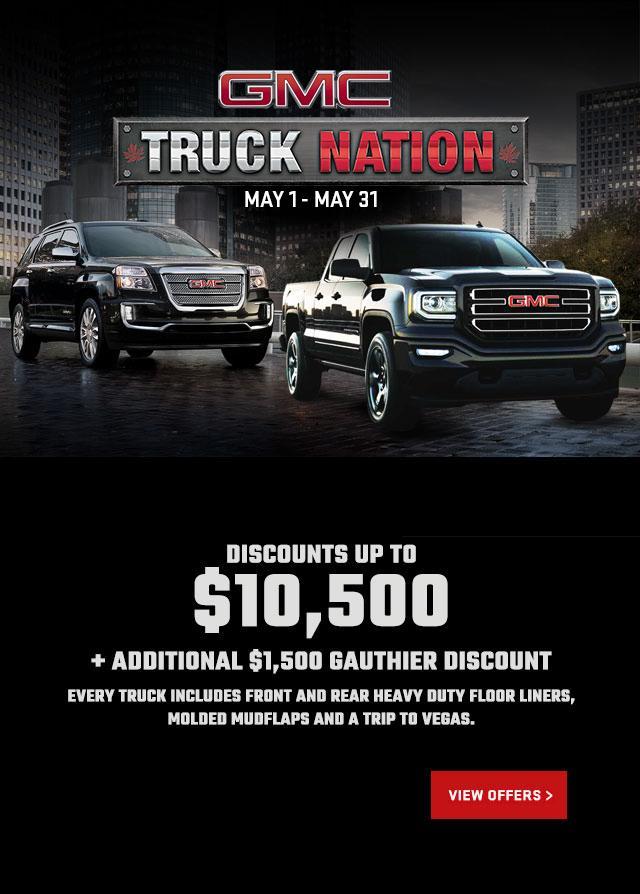 GMC Truck Month Wnnipeg