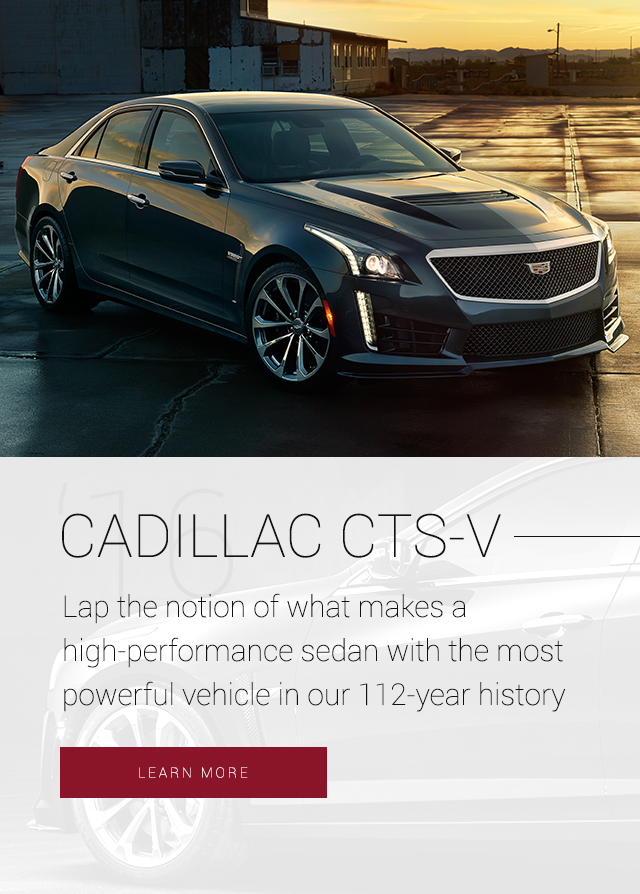 Slide Cadillac CTS Mobile