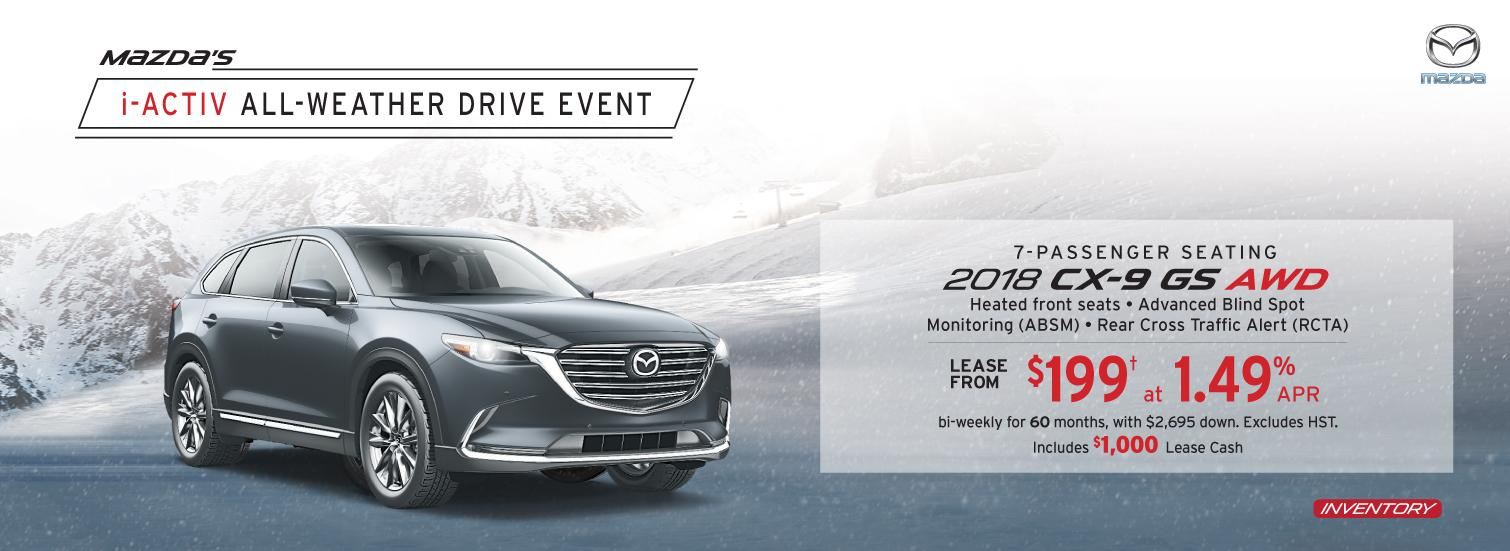 2018 CX-9 Markham Mazda Deals