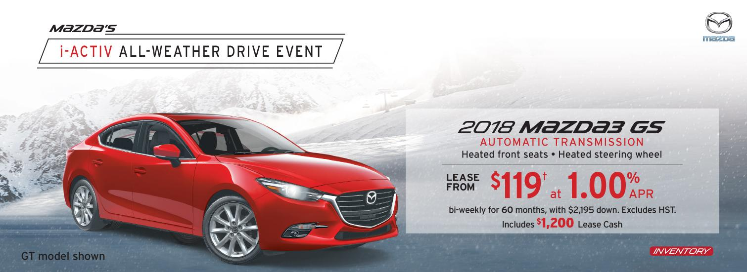 2018 Mazda3 Markham Mazda Deals