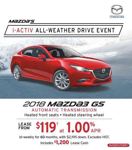 2018 Mazda3 Markham Mazda