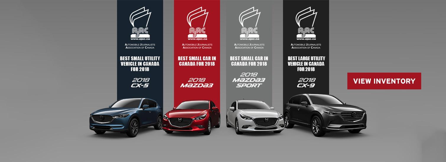 2018 AJAC Mazda3 / CX-5 / CX-9
