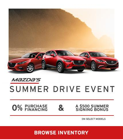 Mazda's Summer Drive Event