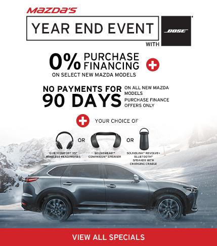 Mazda's Year End Event Markham Mazda