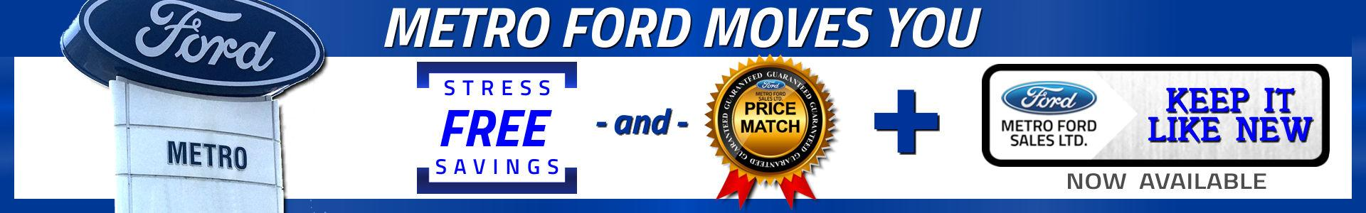 Stress-Free Savings at Metro Ford Dealership in Calgary Alberta
