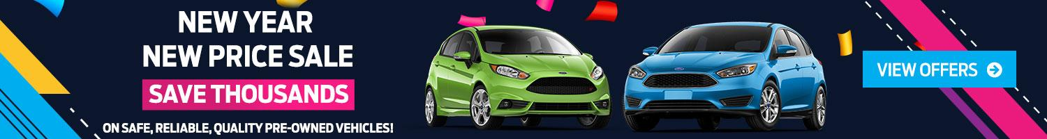 New Year New Price Deals on Pre-Owned Vehicles Nelson Ford