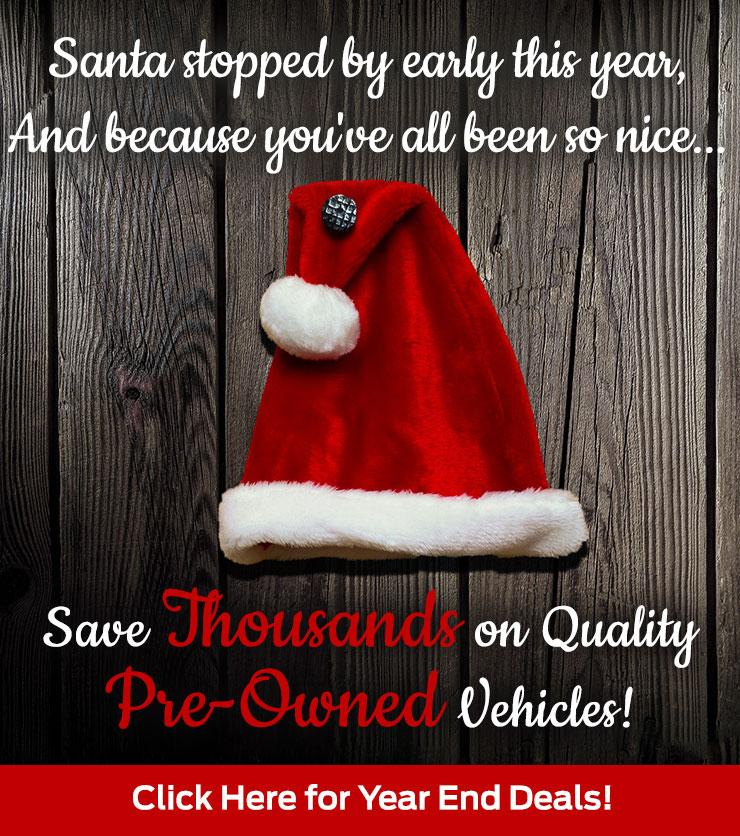 Year End Deals on Pre-Owned Vehicles Nelson Ford - Thousands Off!
