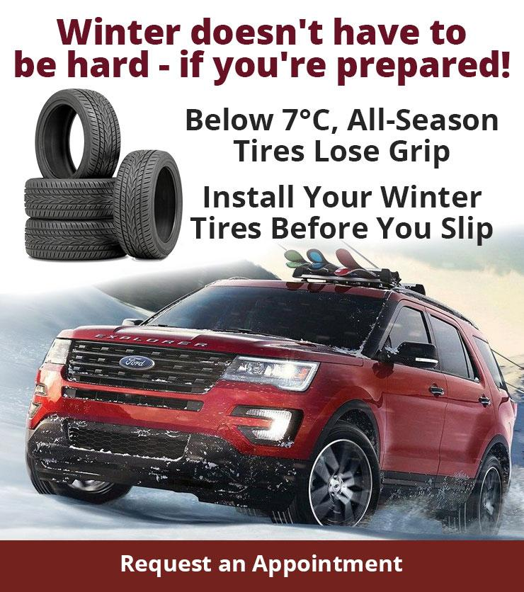 Winter Tires at Nelson Ford