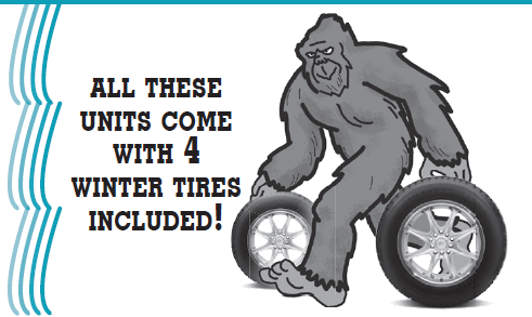 Used Cars at Nelson Ford 4 Winter Tires Included!