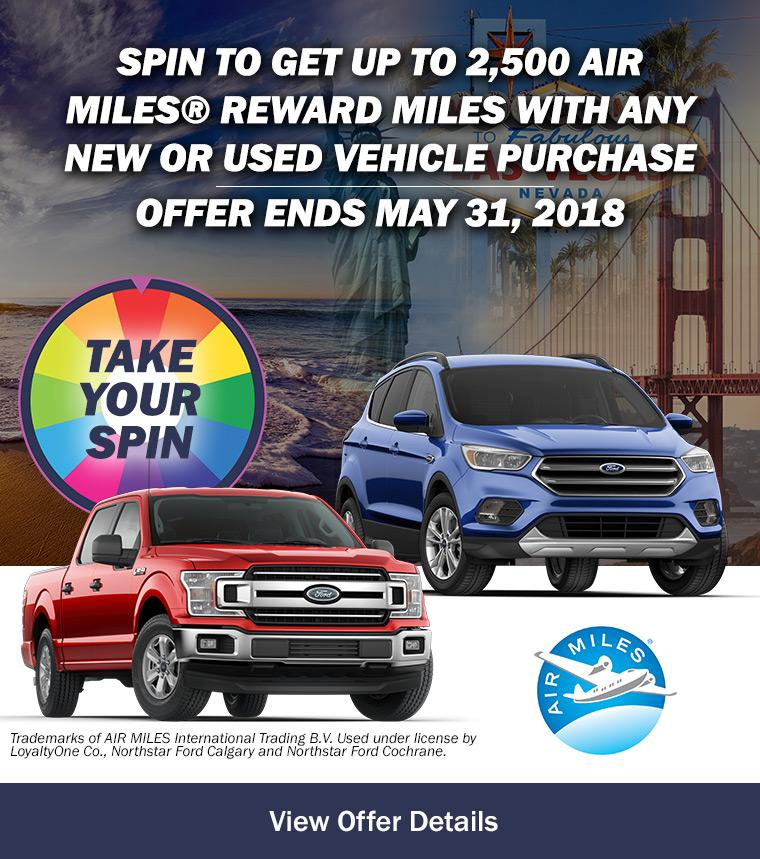Spin To Get Event at Northstar Ford Calgary