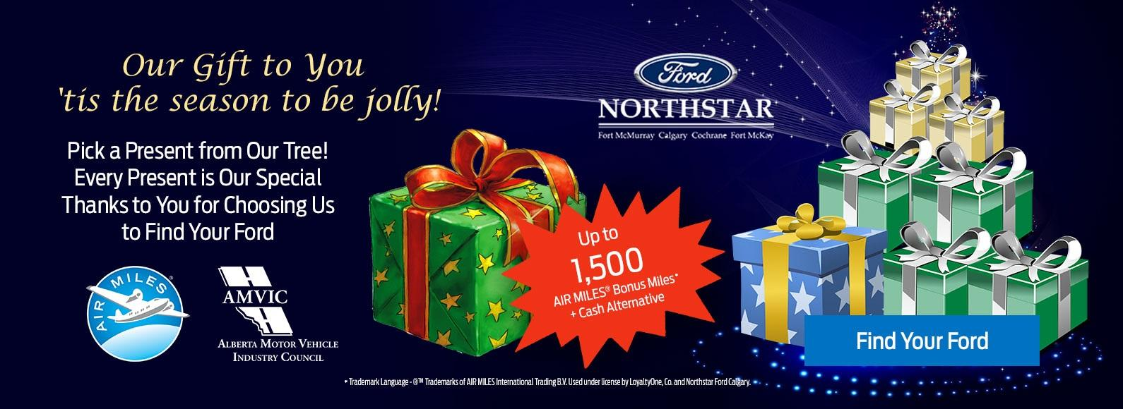 Northstar Ford Calgary Pick a present!