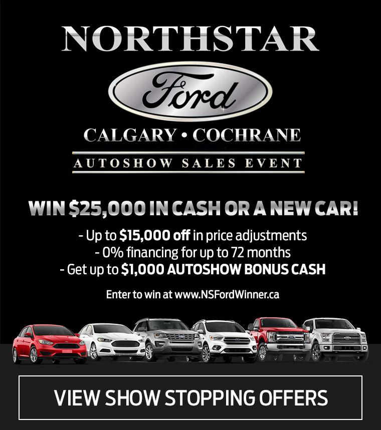 Northstar Ford Autoshow Sales Event
