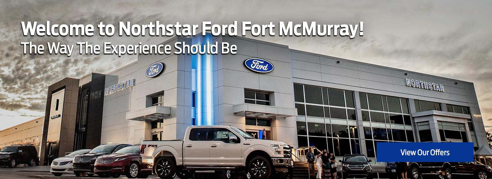 Welcome to Northstar Ford Fort McMurray!