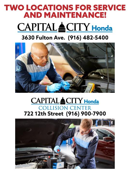 Two Service Locations - Capital City Honda