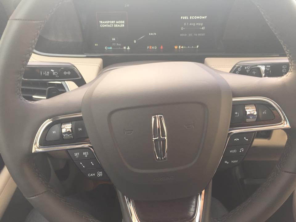 2018 Lincoln Navigator, Steering Wheel