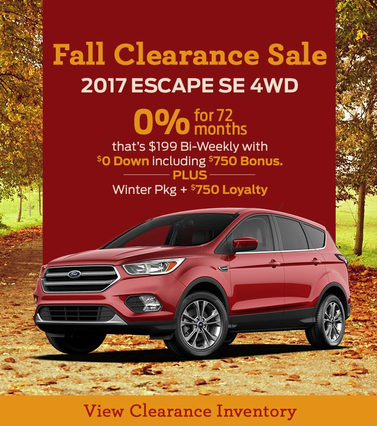 2017 Escape Fall Clearance Woodstock Corey Ford