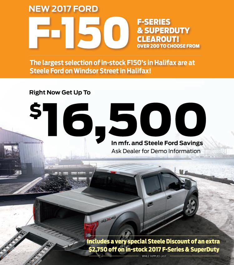2017 F-150 Clearance Mobile