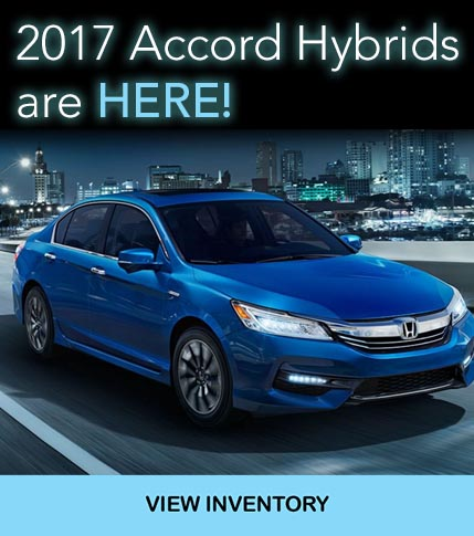 2017 Accord Hybrids are here!
