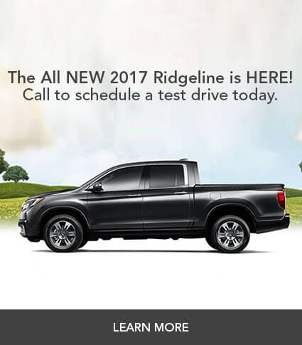 The All-New 2017 Ridgeline is HERE!