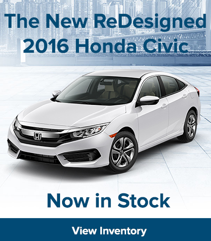 2016 Honda Civic in Stock