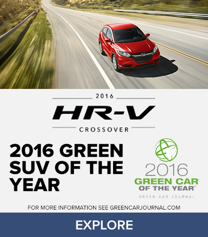 Green SUV of the Year!