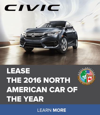 Lease the 2016 North American Car of the Year