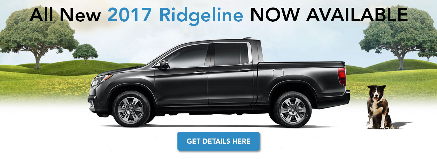 All New Ridgeline - Coming Spring 2016