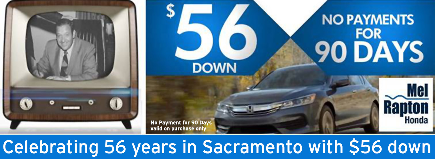 Sacramento honda dealer serving davis citrus heights for Mel rapton honda sacramento ca