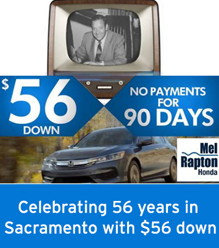 Celebrating 56 Years with $56 Down