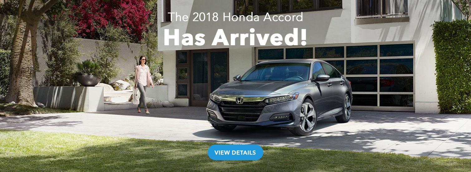 2018 Honda Accord Has Arrived