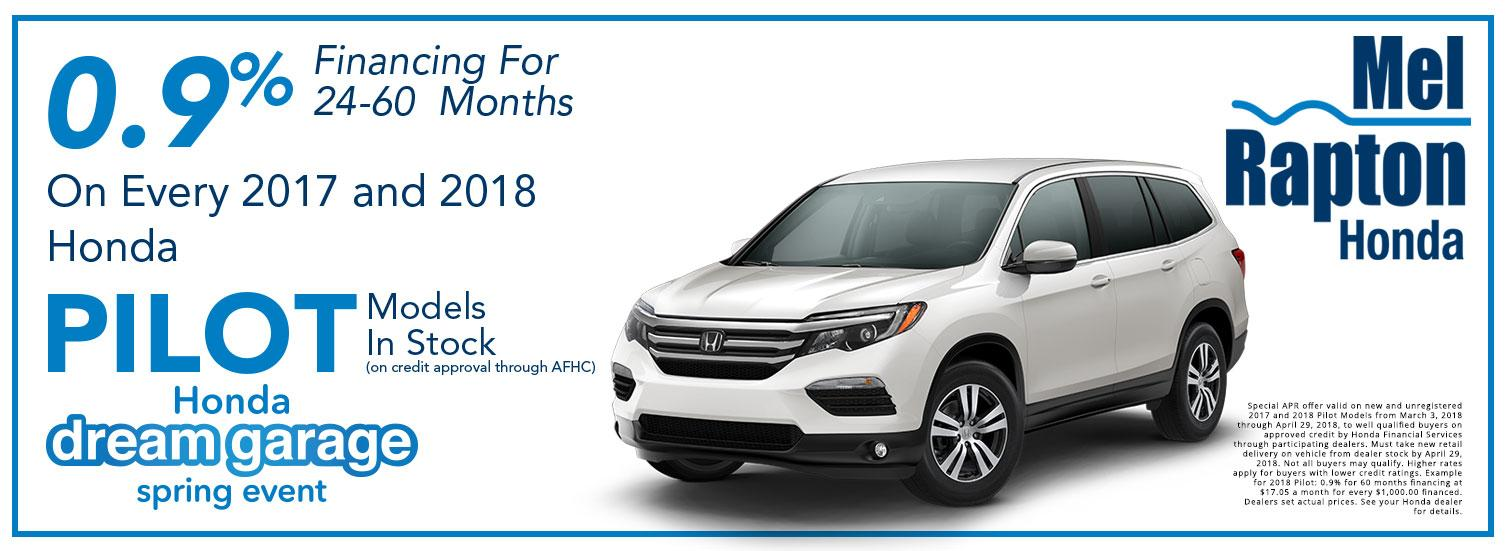 2017 and 2018 Pilot Purchase Offer