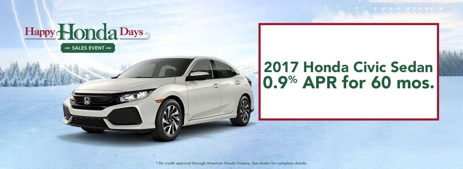 2017 Honda Civic Sedan Finance Offer