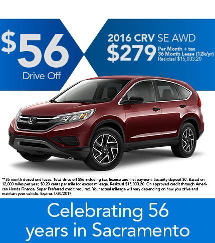 2016 CR-V SE AWD Offer