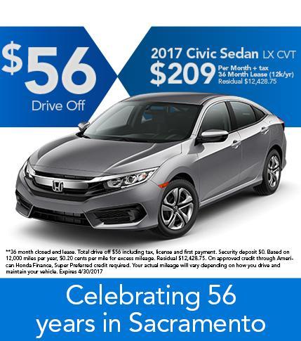 2017 Civic Sedan LX CVT