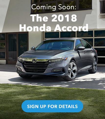 2018 Honda Accord Coming Soon
