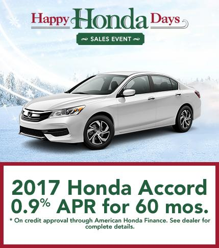2017 Honda Accord Finance Offer