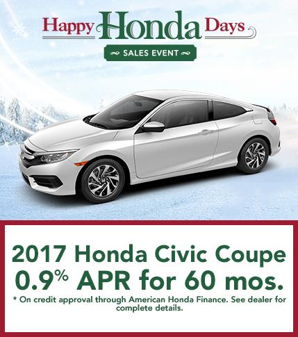 2017 Honda Civic Coupe Finance Offer