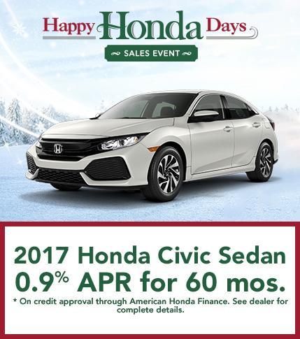 2017 Honda Civic Sedan Offer