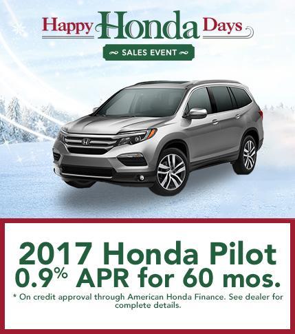 2017 Honda Pilot Finance Offer