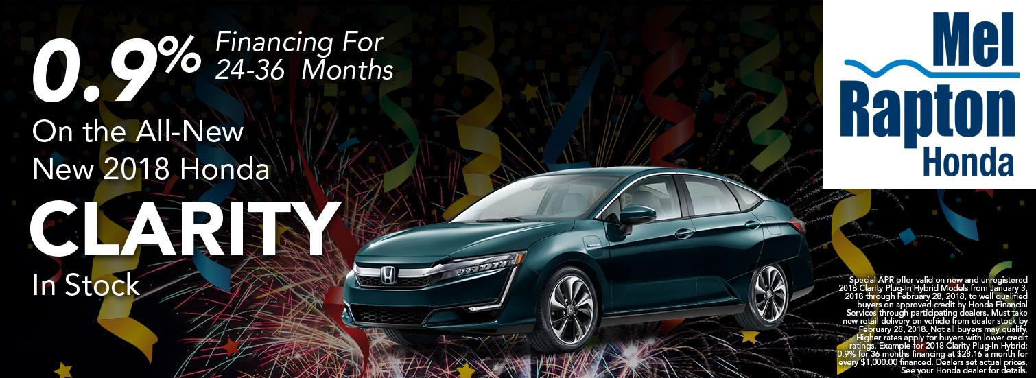 2018 Clarity Finance Offer