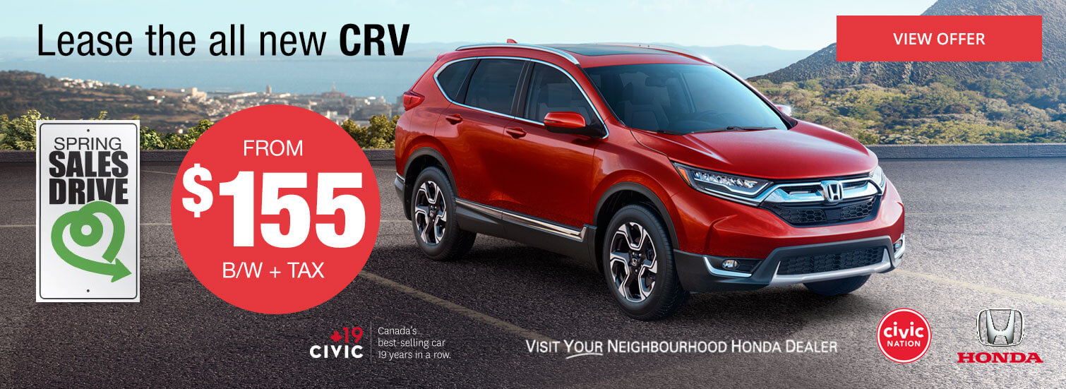 Colonial Honda - Lease The All New CRV