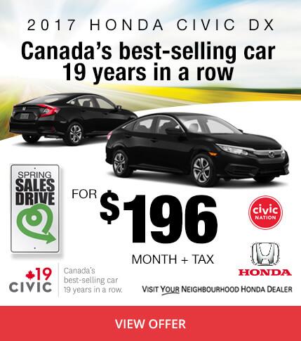 Colonial Honda - 2017 Civic DX