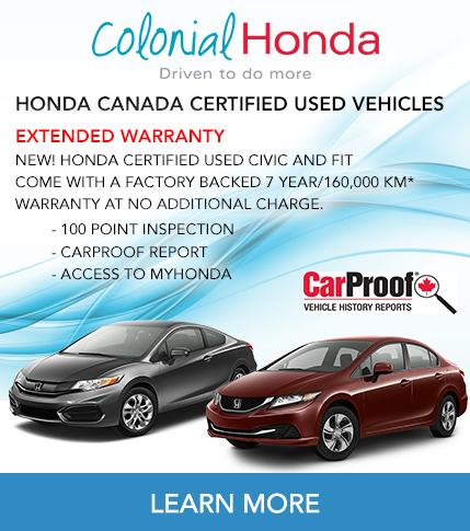 Colonial Honda - Certified Used Vehicles