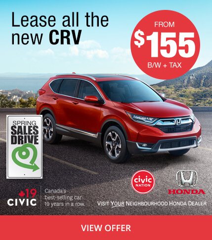 Colonial Honda - Lease The All-New CRV