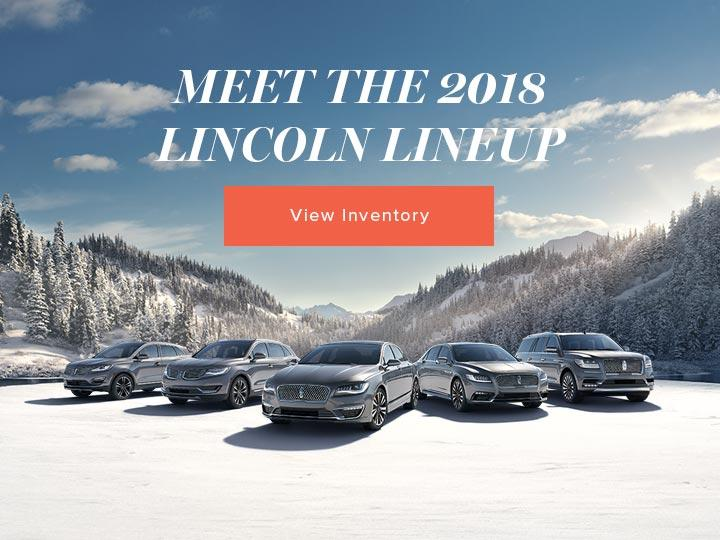 Lincoln of Canada Lineup 2018